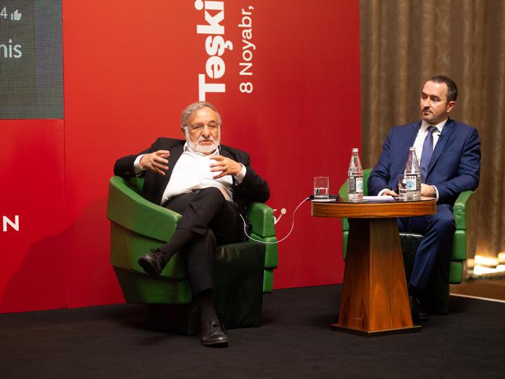 В Баку впервые был проведен бизнес-форум с участием одного из лучших в мире консультантов – Доктора Ицхака Адизеса! – ФОТО
