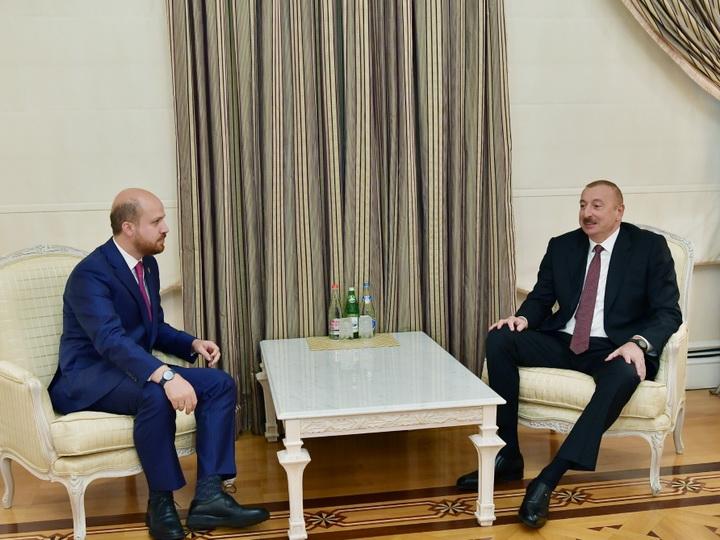 Президент Ильхам Алиев принял делегацию во главе с председателем Всемирной конфедерации этноспорта - ФОТО