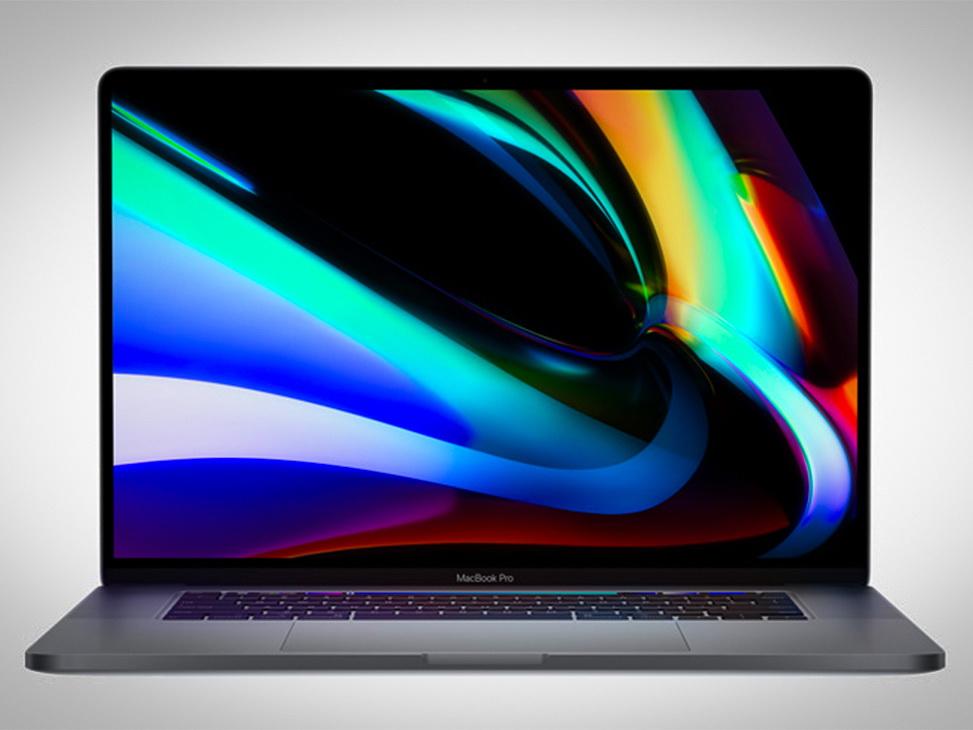 Apple представила MacBook Pro с 16-дюймовым дисплеем