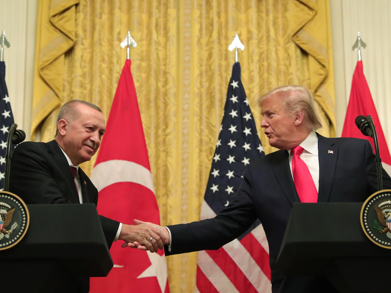 О чем говорили Трамп и Эрдоган?