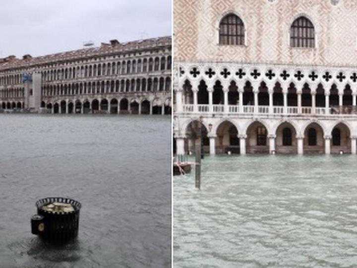 Ущерб от наводнения в Венеции составил €1 млрд
