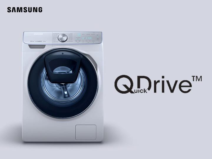 Samsung Add Wash с технологией QuickDrive ™ - тратьте меньше времени на стирку и больше времени на себя – ФОТО