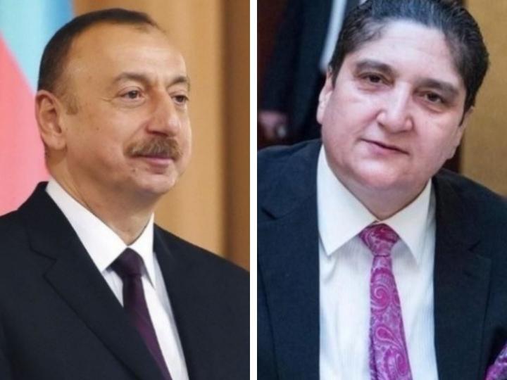 Президент Азербайджана Ильхам Алиев подарил квартиру Билалу Алиеву