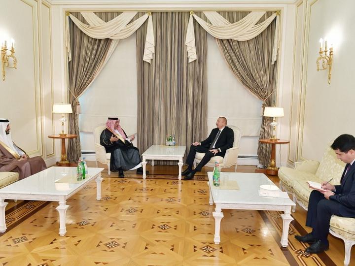 Президент Ильхам Алиев принял генерального секретаря Международного центра межрелигиозного и межкультурного диалога KAICIID - ФОТО