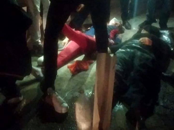 При ДТП на трассе Баку-Губа пострадали двое