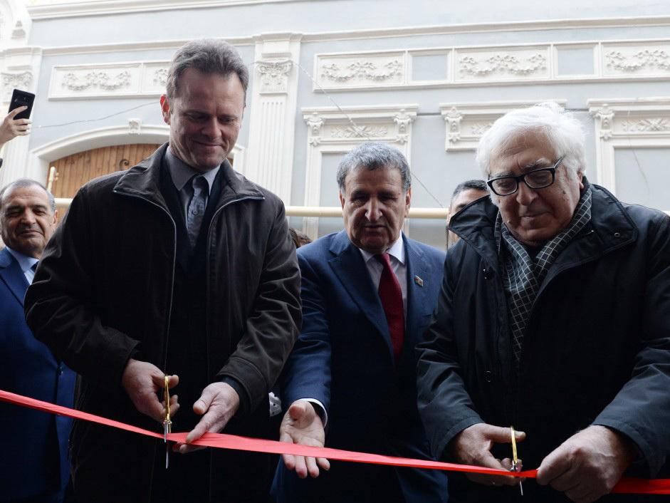 Потомки Джалила Мамедгулузаде приняли участие в открытии дома-музея писателя - ФОТО