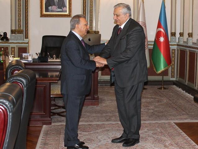Академик Рамиз Мехтиев встретился с вице-президентом НАН Грузии