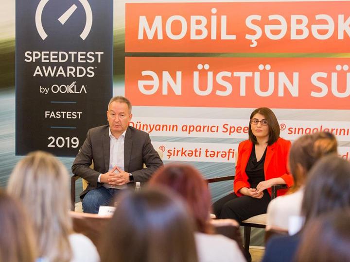 Мобильный Интернет Bakcell признали самым быстрым в Азербайджане - ФОТО