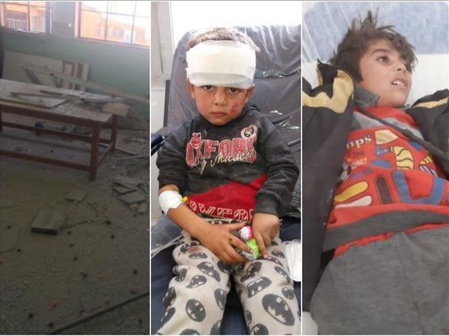 Террористы PKK/YPG обстреляли школу на севере Сирии, есть погибшие и пострадавшие