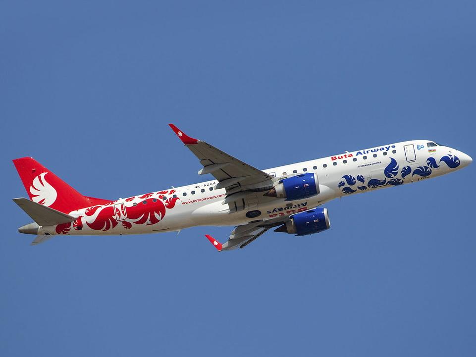 Пассажиру стало плохо, самолет Buta Airways вернулся в аэропорт