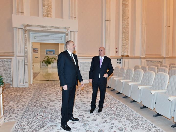 Президент Ильхам Алиев принял участие в открытии Центра мугама в Сумгайыте - ФОТО