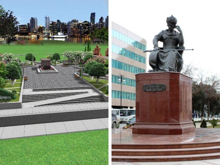 Памятник Шаху Исмаилу Хатаи в Баку ждут кардинальные перемены: Подробности – ФОТО - ЭКСКЛЮЗИВ