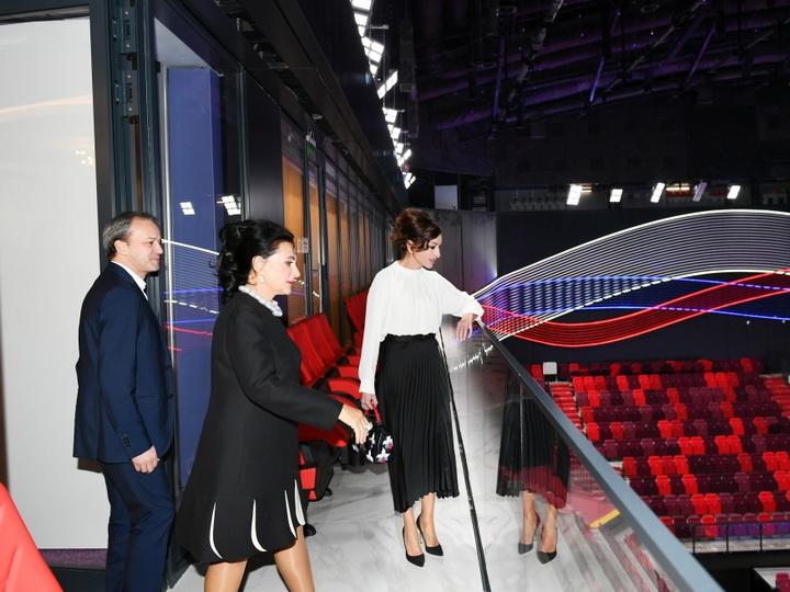Первый вице-президент Мехрибан Алиева ознакомилась с Центром гимнастики в Олимпийском комплексе «Лужники» - ФОТО