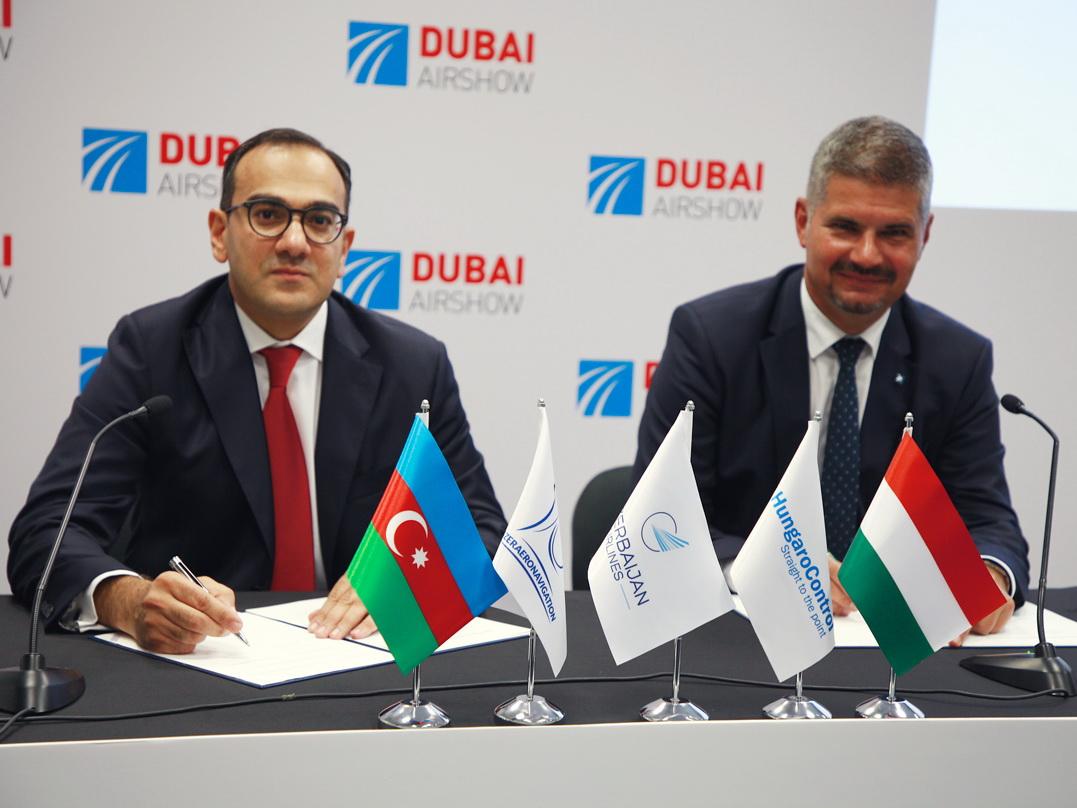 На выставке Dubai Air Show 2019 «Азербайджанские Авиалинии» достигли ключевых договоренностей - ФОТО