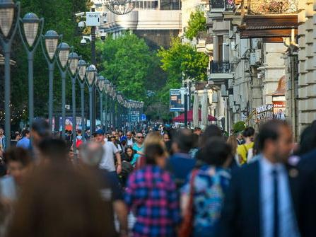 Численность населения Азербайджана заметно возросла