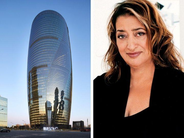 Zaha Hadid Architects построит небоскреб с самым высоким в мире атриумом – ФОТО