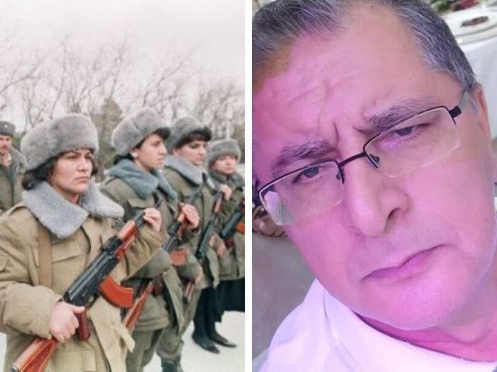 Джумшуд Нуриев оскорбил воевавших в Карабахе женщин: «Разведенные, уличные пошли на фронт» - ВИДЕО