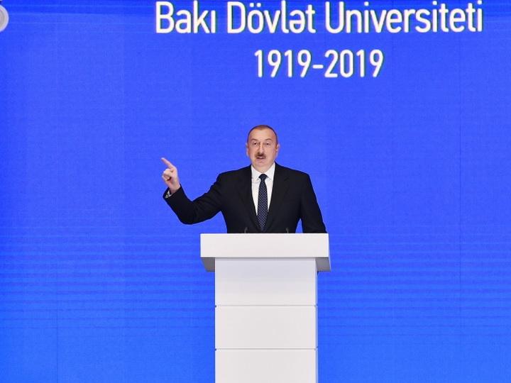 Президент Азербайджана желает видеть молодежь более патриотичной и приверженной духовным ценностям