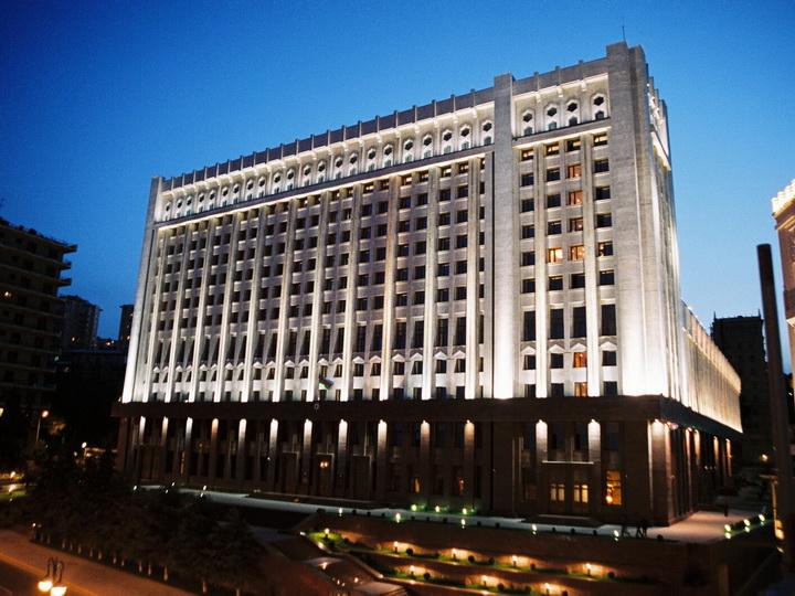Новая структура Администрации Президента Азербайджана