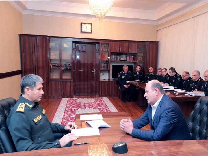 Вилаят Эйвазов принял граждан в Сумгайыте - ФОТО