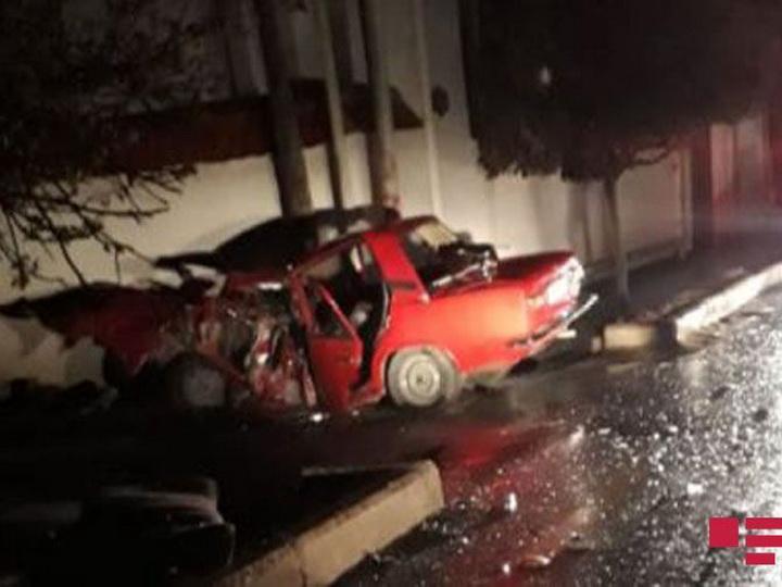 В результате ДТП в Шамкире погибли 5 человек - ФОТО