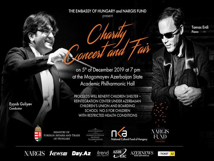 Фонд Nargis и посольство Венгрии в Азербайджане организуют очередной благотворительный концерт