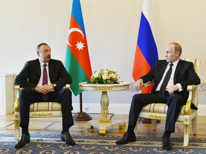 Президент Азербайджана выразил соболезнования президенту России
