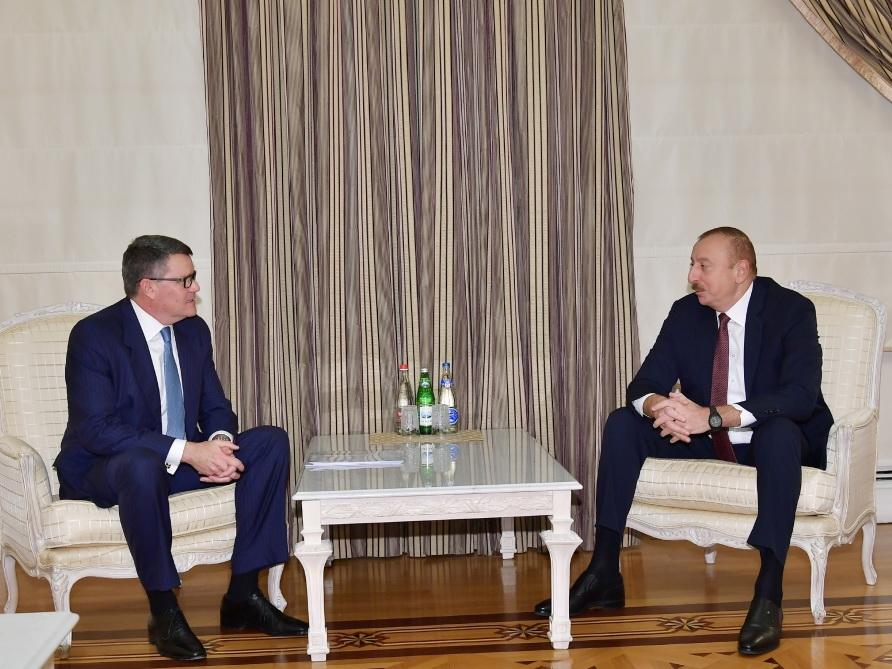 Президент Ильхам Алиев принял делегацию компании CISCO - ФОТО