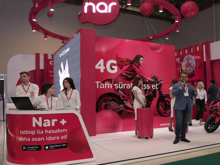 Подходите к стенду Nar на выставке BakuTel и выиграйте смартфон! - ФОТО