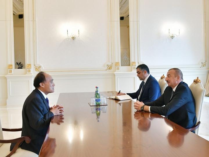 Президент Ильхам Алиев принял генерального секретаря Международного телекоммуникационного союза - ФОТО