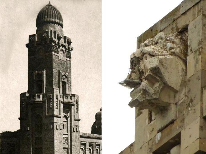 «Изуродованные львы Сабунчинского вокзала»: Чьей жертвой стал архитектурный памятник Баку? - ФОТО