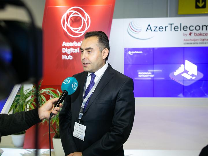AzerTelecom представляет программу Azerbaijan Digital Hub на выставке BakuTel – ФОТО