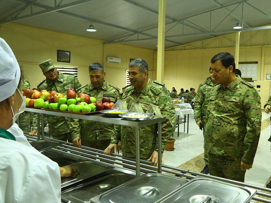Министр обороны принял участие в открытии новых военных объектов инженерного назначения в прифронтовой зоне – ВИДЕО