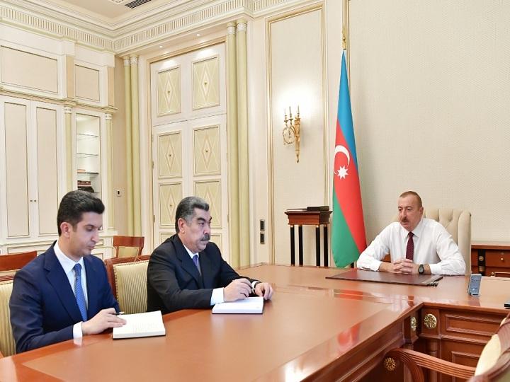 Prezident İlham Əliyev yeni icra başçılarını qəbul edib – FOTO