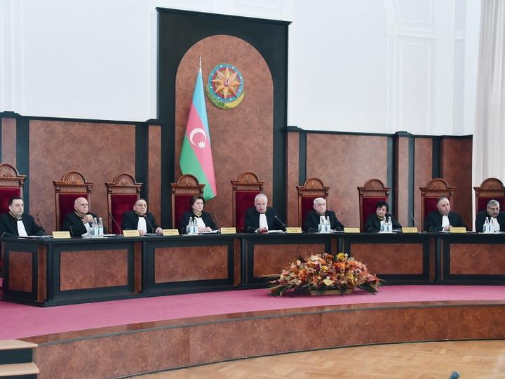 Пресс-служба Конституционного суда АР выступила с сообщением - ФОТО