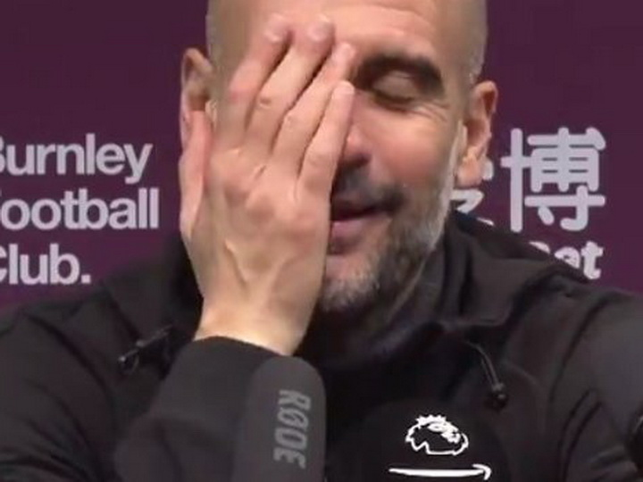 Гвардиола перепутал «Манчестер Сити» и «Баварию» на пресс-конференции - ВИДЕО
