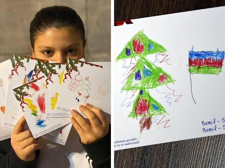 Новогоднее волшебство в Баку: Необычные открытки от детей с синдромом аутизма – ФОТО –ВИДЕО