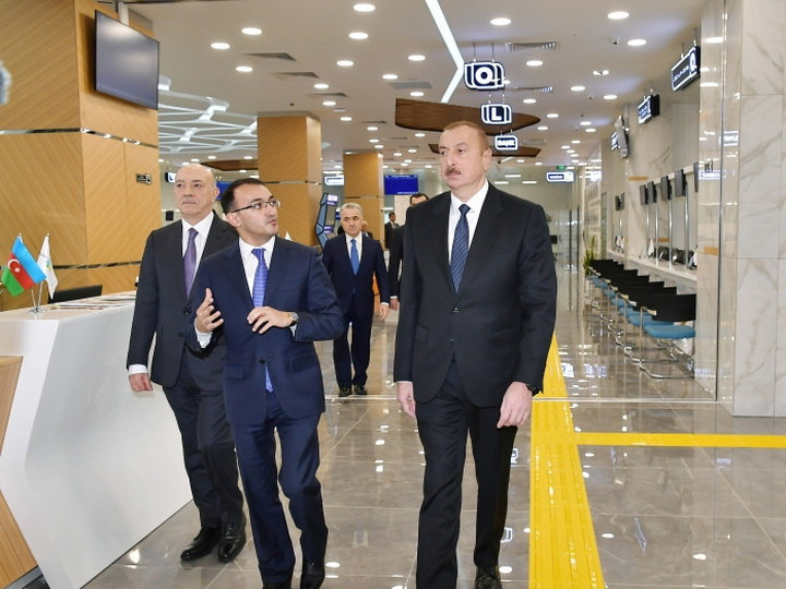 Президент Ильхам Алиев принял участие в открытии комплекса ASAN Həyat в Шамахе - ФОТО