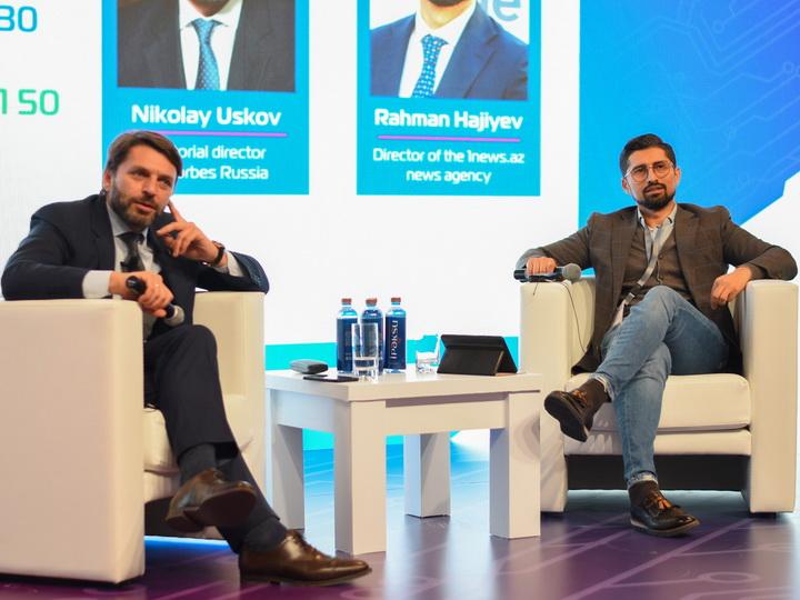 Руководители Forbes Russia и 1news.az обсудили бизнес тренды будущего - ФОТО