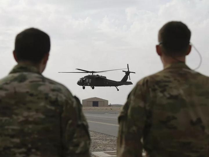 Трое военных США погибли при падении вертолёта в Миннесоте