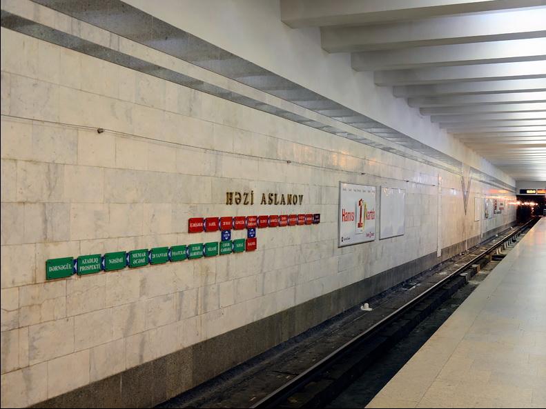 Метрополитен выступил с официальным опровержением: Никакой угрозы станции «Ази Асланов» нет - ОБНОВЛЕНО