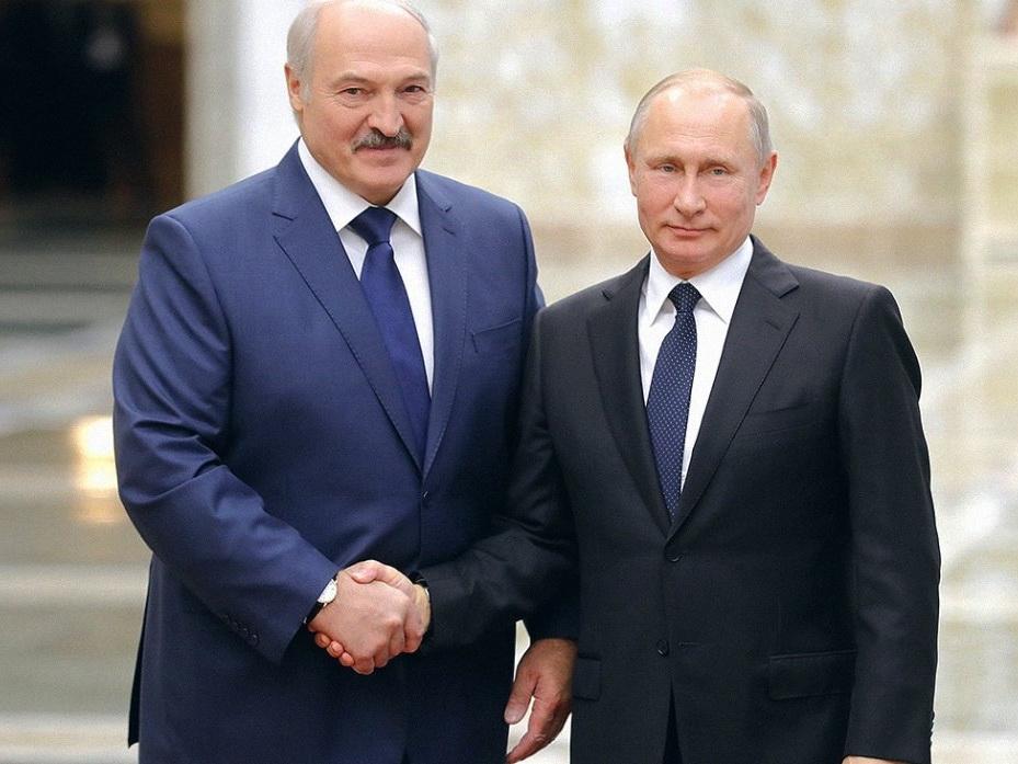 Путин поздравил Лукашенко с 20-летием подписания договора о создании Союзного государства