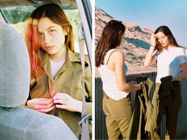 Портреты: Девушки-новобранцы в израильской армии - ФОТО