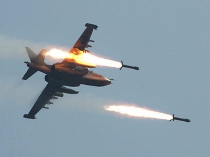 Неизвестные самолеты нанесли удар по лагерю иранских бойцов