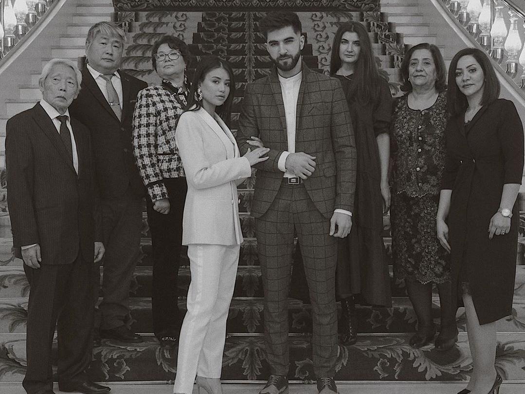 Российский певец-азербайджанец женился на кореянке - ФОТО - ВИДЕО