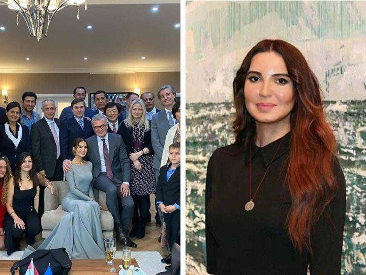 Азербайджанская художница вышла замуж за посла Хорватии в Баку - ФОТО