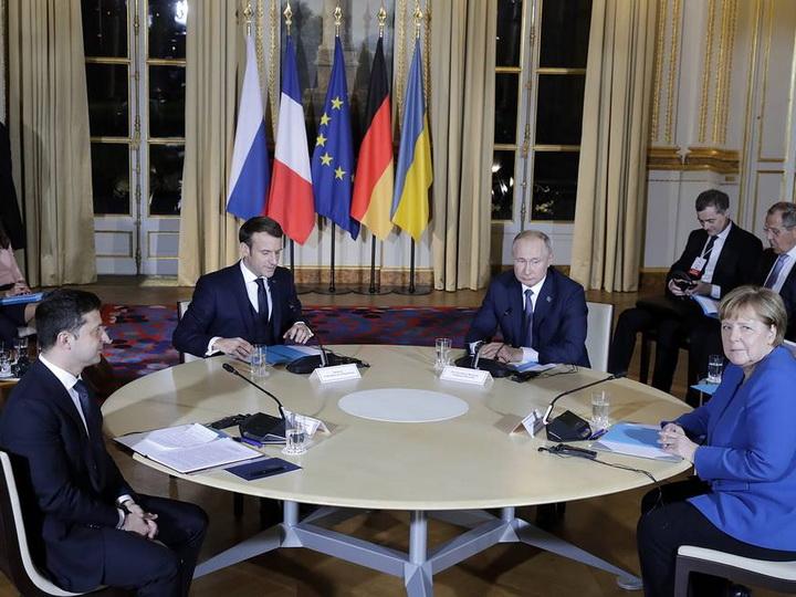 В Париже началась встреча лидеров «нормандской четверки» - ФОТО