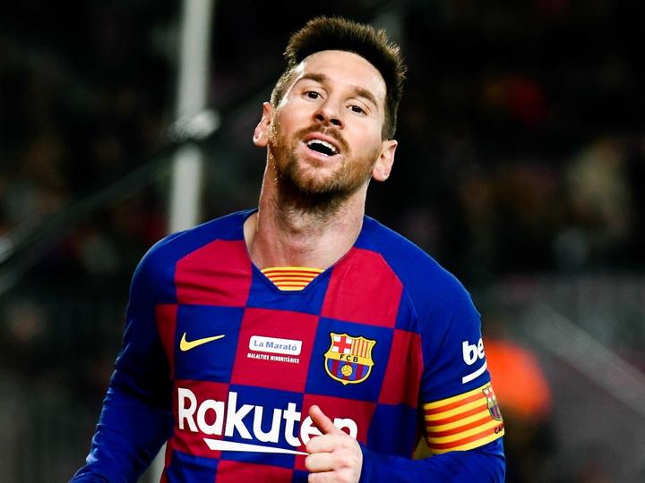 Месси не попал в заявку «Барселоны» на матч Лиги чемпионов с «Интером»
