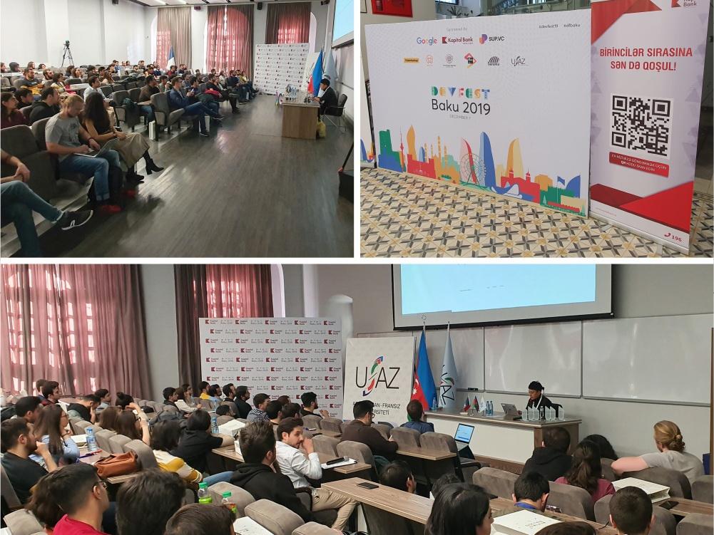 Kapital Bank оказал поддержку международному мероприятию Baku DevFest 2019
