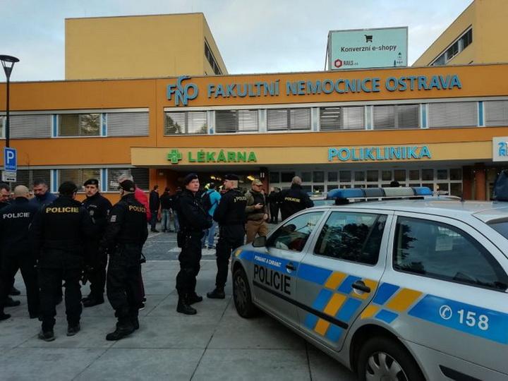 Устроивший стрельбу в чешской больнице покончил с собой - ФОТО - ОБНОВЛЕНО